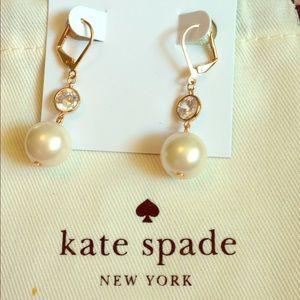 Kate spade bright ideas pearl drop earrings